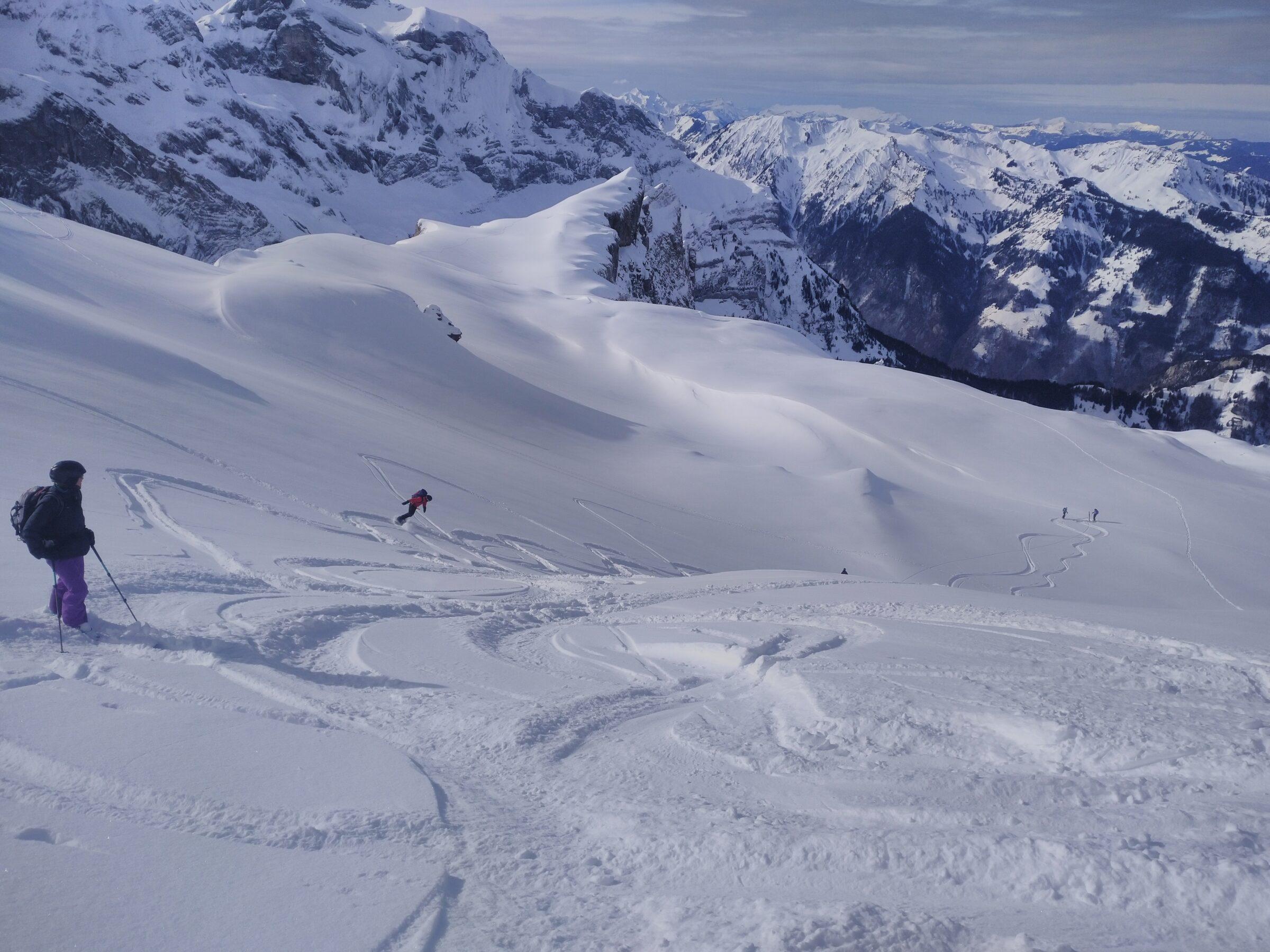 Skitour Giglistock