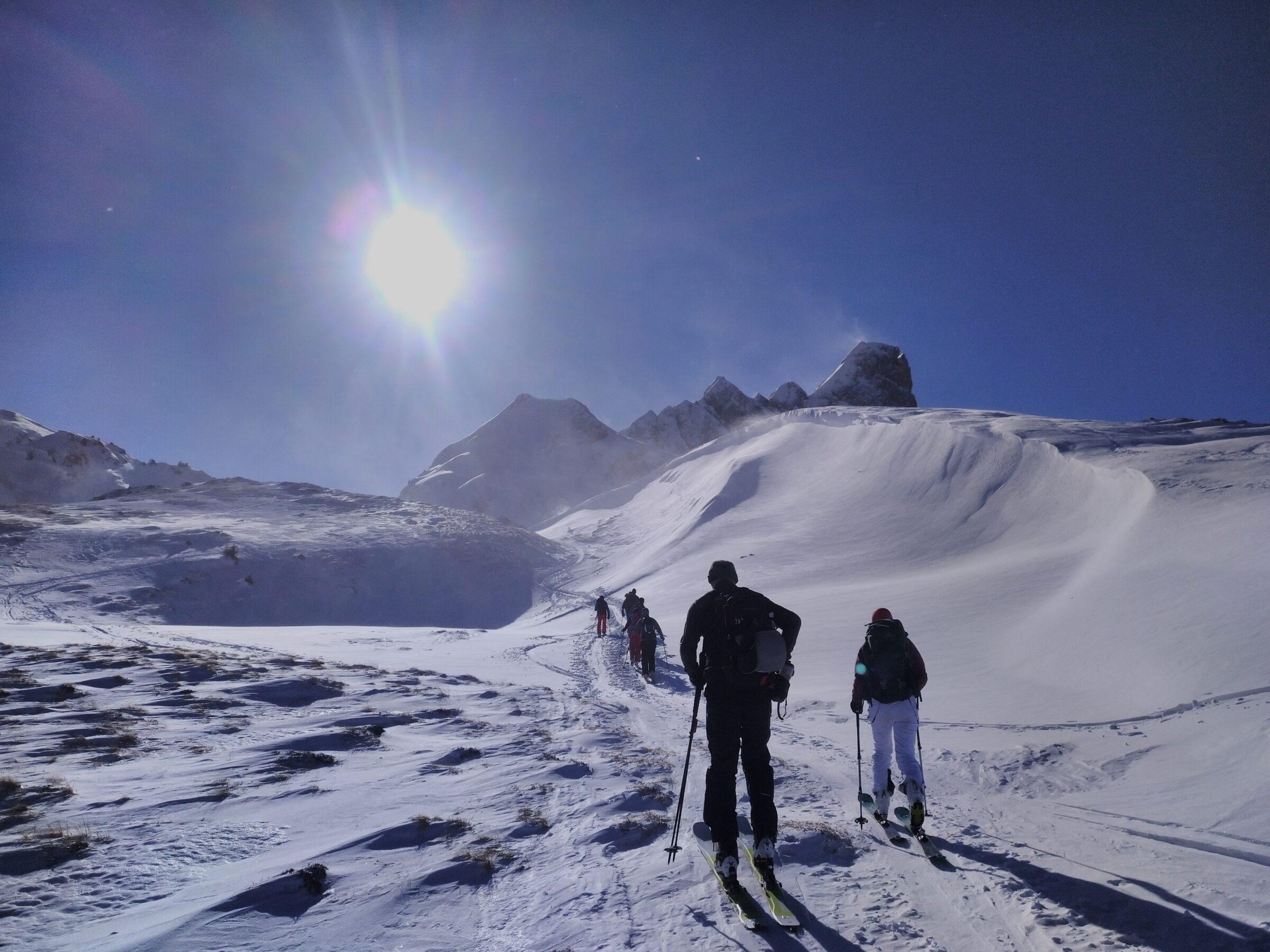 Skitour Mariannenhubel